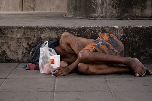 Thailand homeless