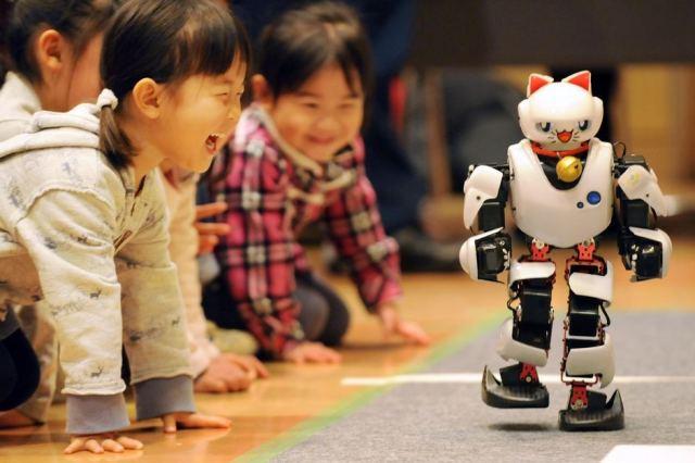 cat robot Toshifumi Kitamura AFP
